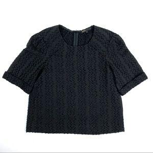 MAJE Black Blouse Top   Small 1